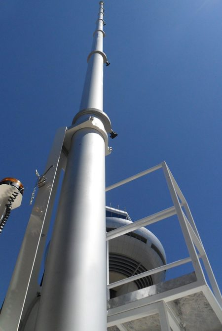 Pneumatic Masts with Locking System